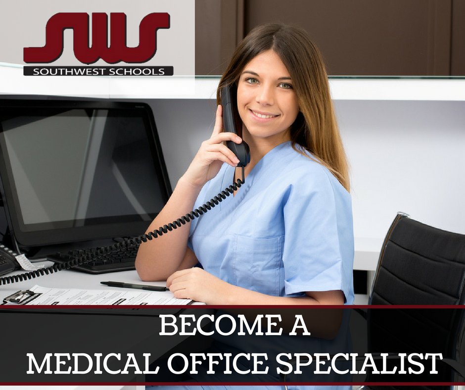 medical office specialist on phone